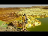 Walking in the Danakil Depression, Ethiopia