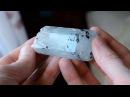 Натуральный аквамарин - кристалл. Natural aquamarine crystal.