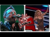 A Classic Rocker Makes Shakira Dance Country For The First Time On The Voice !!!