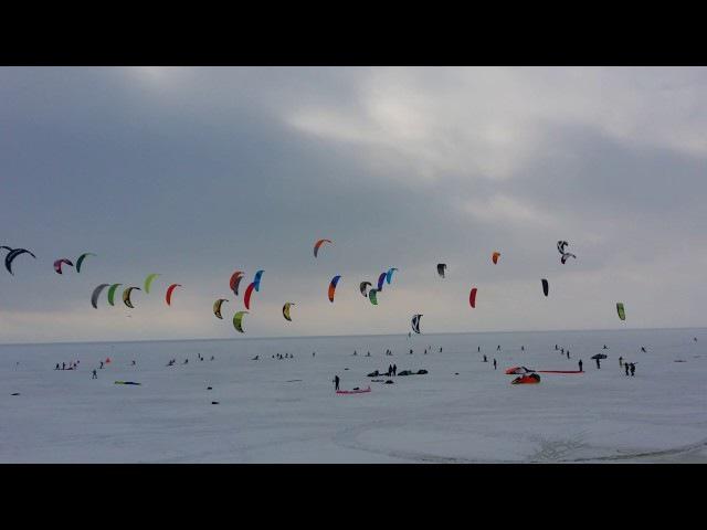 Чемпионат России по зимнему кайтингу, февраль 2016 г г. Тольятти