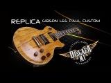Gibson LP Custom China Replica - тестим и играем в шоуруме DisgaeaMT
