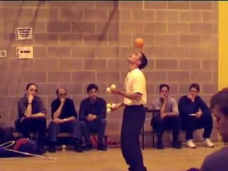 Anthony Gatto - complete and unedited practice session at the British Juggling Convention 2000