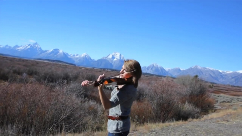 Promentory (Last of the Mohicans Theme) on Violin