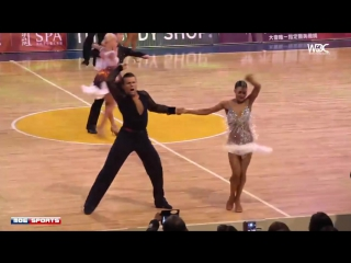 Open Professional Latin final - 2017 WDC Asian Tour Dance Taipei
