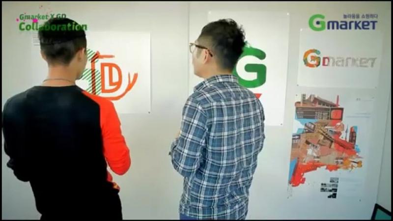 [G마켓] Gmarket X GD Collaboration - Making Film