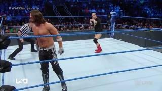 WWE Championship Match: AJ Styles vs Jamess Ellsworth