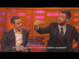 Graham Norton Show. Джеймс МакЭвой, Дженнифер Лоуренс и Джек Уайтхолл