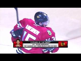 НХЛ On The Fly: Три звезды дня Янв 8, 2017