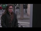 В Париже появился билборд, имитирующий аварии, когда кто-то переходит дорогу на красный свет