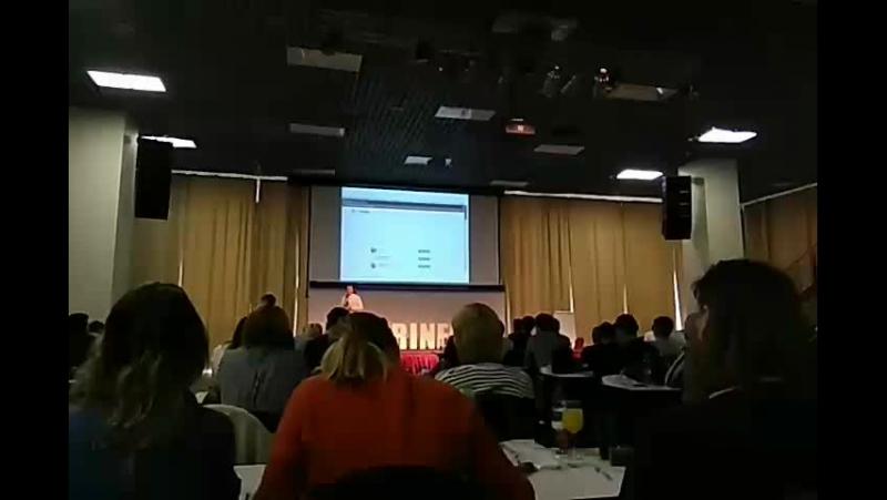 конференция piterinfobiz. instagram Николай Исаев 2,2 млн подписчиков