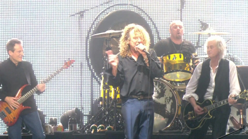 Led Zeppelin 2007 For Your Life (Celebration Day 1080p. (4))