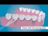 Суперфлосс, как чистить вокруг имплантатов с помощью TePe Bridge Implant Floss