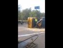 Жесть Авария, Тролейбус и Грузовик ДТП Киев.