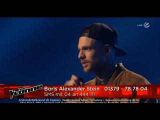 OneRepublic Boris Alexander Stein - Lets Hurt Tonight (The Voice of Germany)