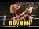 ЛОУ КИК в кикбоксинге и тайском боксе Урок от чемпионов STRONG DIVISION
