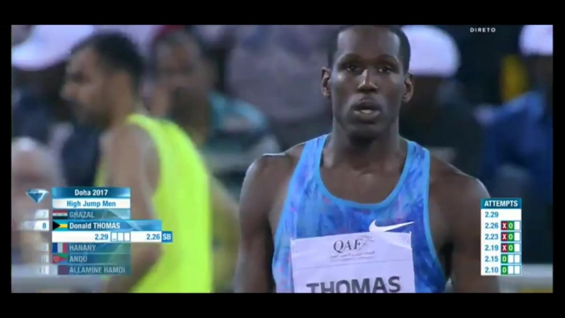 BARSHIM Mutaz 2.36 WL HIGH JUMP MEN IAAF Diamond League Doha 2017