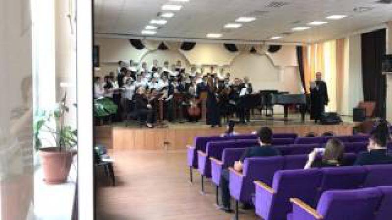 Хор СКМК,струнный ансамбль,дирижёр Мария Луцкая-Страсти по Матфею