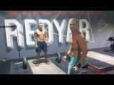 Redyar team.  Igor and Dema synchro thrusters ladder