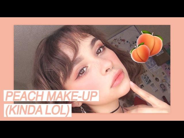 ♡peachy make-up (kinda lol)