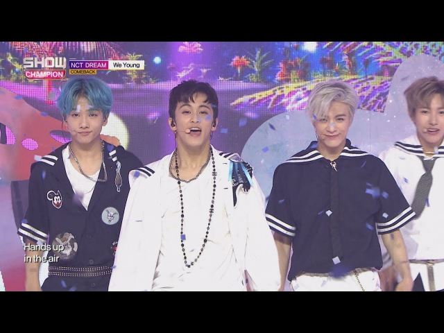 Show Champion EP 242 NCT Dream We Young 엔시티 드림 위 영