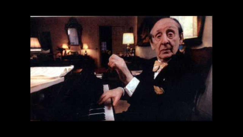 Chopin Etude Op 25 No 5 E minor Horowitz Rec 1989