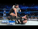 Dillinger interrupts Corbin's U.S. Title Match with Styles SmackDown LIVE, Sept. 19, 2017