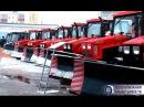 Парад коммунальной техники прошел в Альметьевске