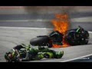 Isle of Man TT Crashes. Остров Мена супербайк аварии