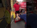 100kg x 41 Bench Press Kirill Sarychev  Кирилл Сарычев