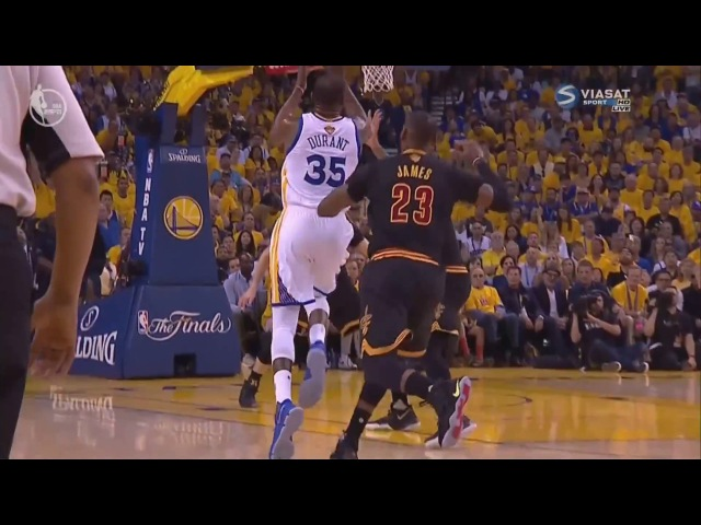 JaVale McGee strong Alley Oop from KD | NBA Finals 2017 | NBA Playoffs | GSW vs CAVS | Game 2