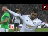 Henrikh Mkhitaryan's new goal Saint Etienne-ManUtd 01 23.02.17