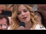 Jackie Evancho sings the national anthem at Inauguration Day 2017