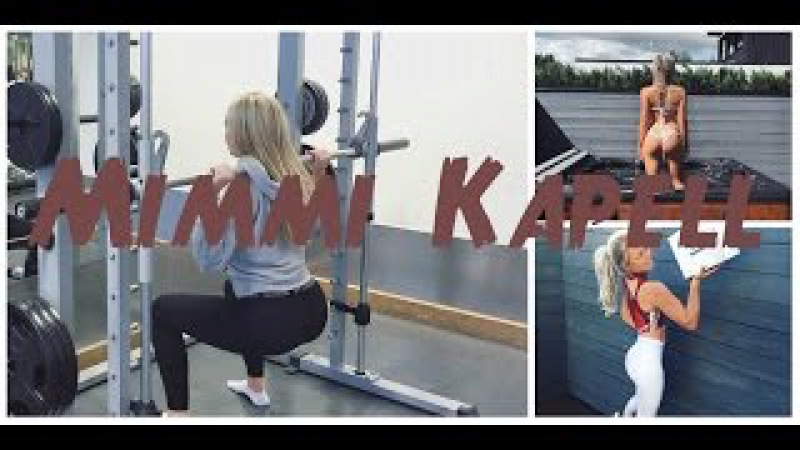 Mimmi Kapell Video From Instagram Sweden Fitness Athlete Personal Trainer 7