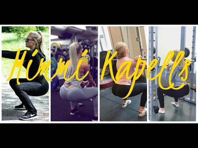 Mimmi Kapells - Video From Instagram Sweden Fitness Athlete Personal Trainer 3