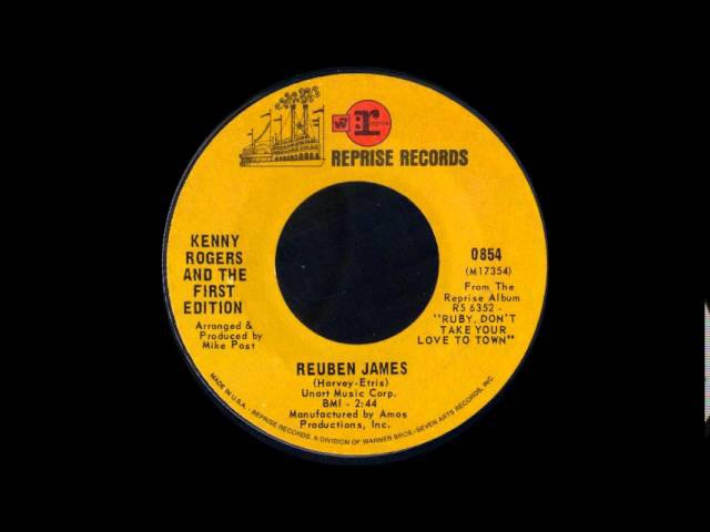 1969_188 - Kenny Rogers and the First Edition - Reuben James - (45)