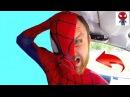Человек-Паук КТО скрывается под МАСКОЙ Spiderman Loses His Mask Джокер Преступник Хулиган ...