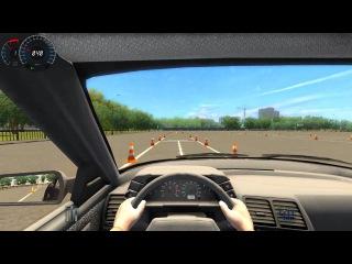 3D Инструктор: Сдаём площадку Обучение вождению Симулятор вождения 4 ( Gameplay, LetsPlay