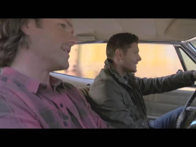 Supernatural Дин и Сэм поют Night Moves Sam Din sing Night Moves