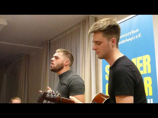 Daniel Schuhmacher mit Smalltown Boy (Cover Bronski Beat)am 11. 08. 2017 in Groß-Gerau