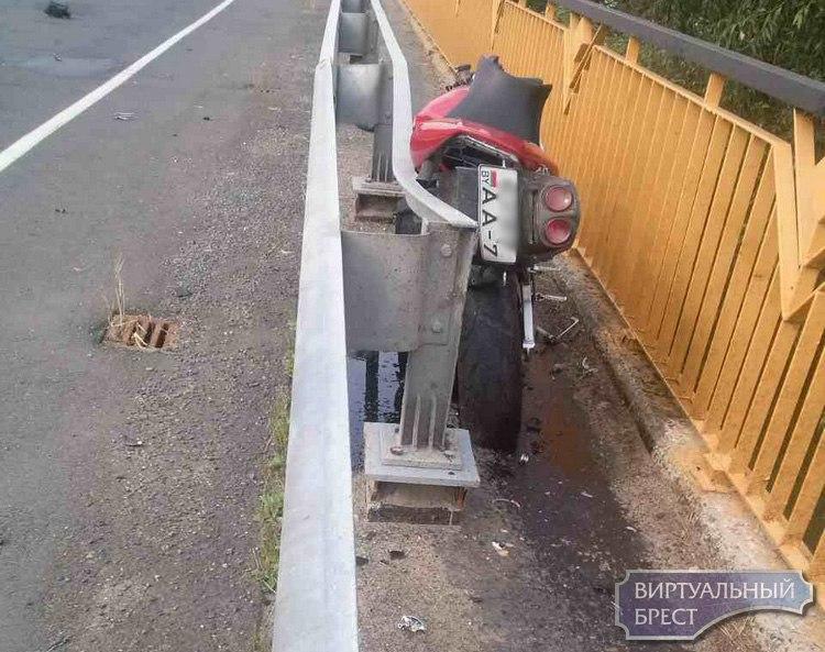 Трагедия в Дрогичинском районе - насмерть разбился мотоциклист