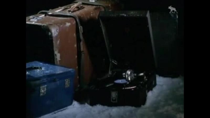 Заставка конца эфира (НТВ, 2002-2003) Чемоданы