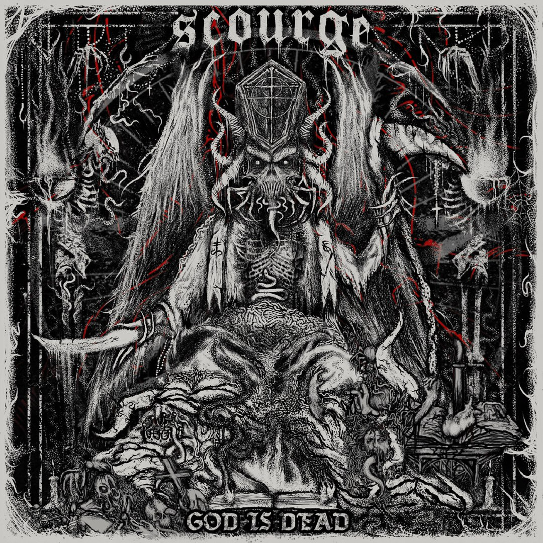 Scourge - God Is Dead [EP] (2017)