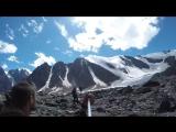 Ледник Актру высота 2840м 1
