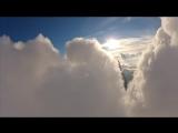 Прогулка в облаках. (полёт на параплане)