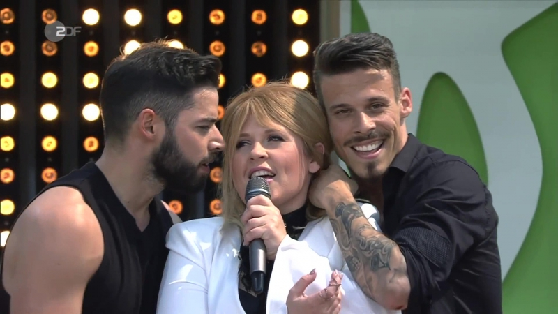 Maite Kelly - Es war noch nie so schön (ZDF Fernsehgarten 28.05.2017)