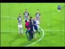 Neftçinin legioner futbolçusu azərbaycanlı azarkeşi vurdu