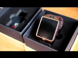 Обзор умные часы  dz 09 Smart watch