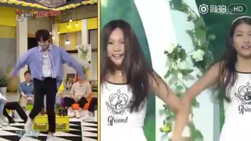 Минджэ танцует MGT