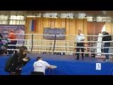 Наталья Попова чип России по лоу 1 бой 2-3 раунд