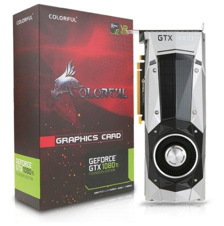 Видеокарта NVIDIA GeForce GTX1080Ti DDR5X 11 Gb